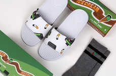 Ice Cream-Motif Sandals - SANDALBOYZ and BBC Ice Cream Join on new Themed Sandals and Socks