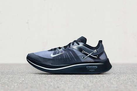 Crossbones-Motif Sneakers