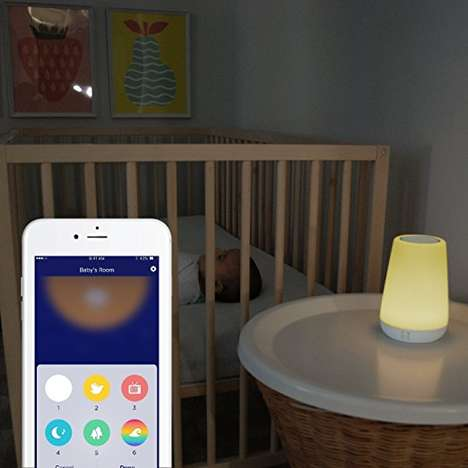 Multifunctional Childhood Nightlights - The Hatch Baby Rest Night Light Helps Kids Rest Easy