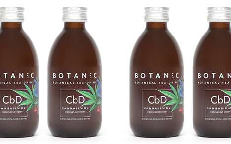 Soothing CBD Soft Drinks