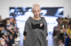Expressive Gender-Neutral Fashion Runways