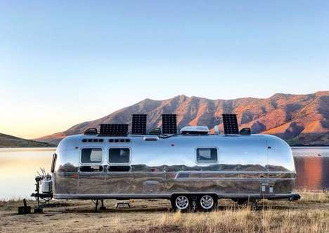 IoT-Connected Travel Trailers