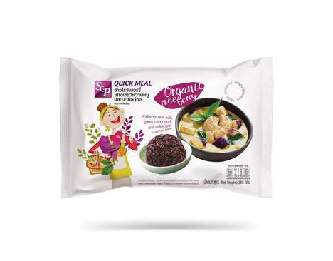 Microwaveable Riceberry Meals