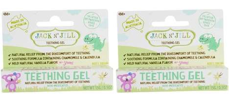 Tasty Vegan Teething Gels