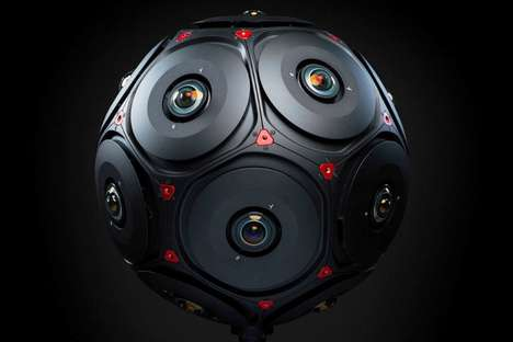 8K 16-Lens Cameras - The RED Manifold 360 Camera was Created in Collaboration with Facebook