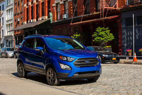 City-Suited Crossover Vehicles - The Ford EcoSport 4WD is Perfect for Urban Weekend Warriors