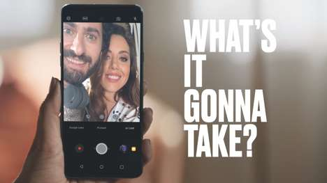 Pushy Celebrity Phone Ads - LG's 'What's It Gonna Take' Ad Convinces Consumers to Get a New Phone
