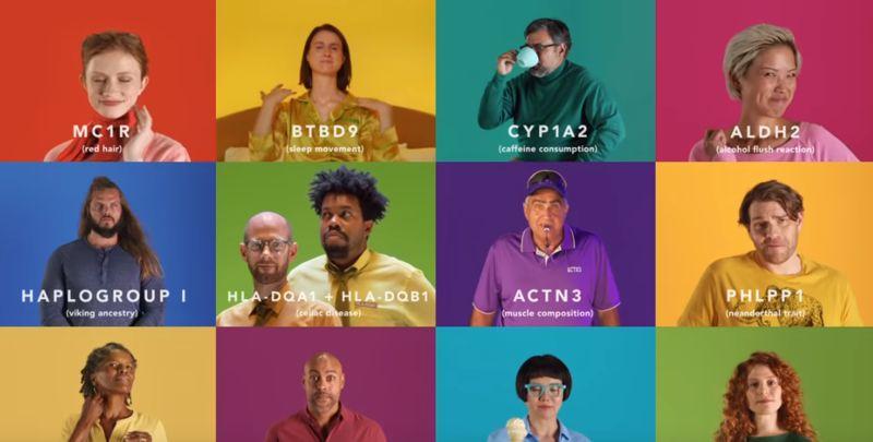 Humorous Gene-Testing Ad Spots