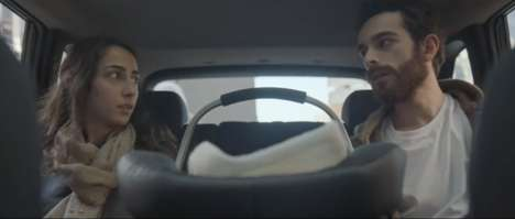 Emotional Newborn Ride-Sharing Ads - Uber's 'First Ride' Follows Parents Taking Their Baby Home