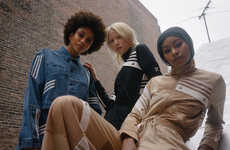 Reimagined Iconic Fashion Staples - Daniëlle Cathari Deconstructs the Classic adidas Tracksuit
