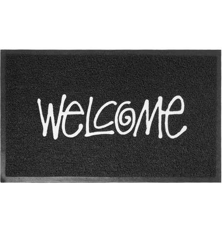 Streetwear Brand Welcome Mats - The Stussy Welcome Mat is Made from Weather-Resistant PVC