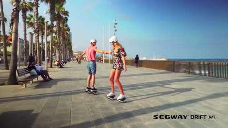 Lightweight Personal E-Skates