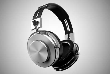 Retro Machine-Inspired Headphones