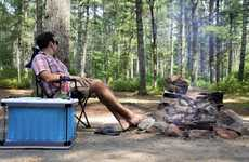 Water-Powered Camping Coolers - The Felik Yuma 60L Cooler Works without Electricity or Ice