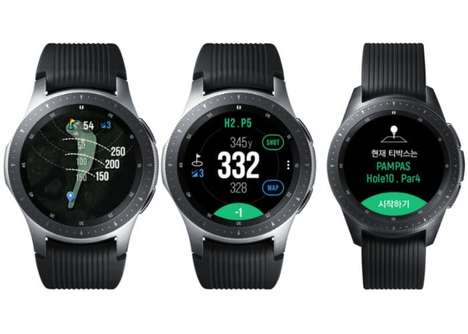 Professional Golfer Smartwatches