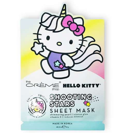 Cartoon Cat Sheet Masks