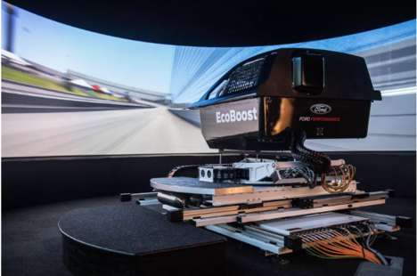 Realistic Automotive Simulations - The Ford 3D Racing Simulator Helps Cut Costs When Testing Cars
