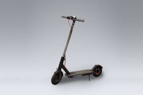 Taxi-Inspired Electric Scooters