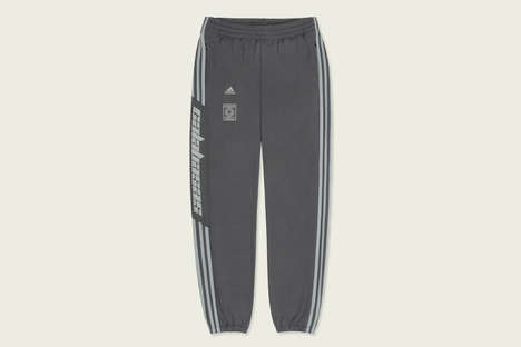 Dual-Knit Polyester Track Pants