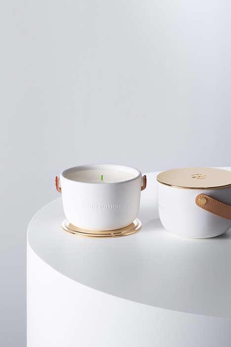 Nature-Inspired Ceramic Candles