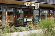Coffee Lounge Tech Shops - 'The Lounge' by AT&T is a Hybrid Retail Store and Coffee Shop Hangout