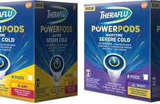 Symptomatic Relief Drink Pods - 'Theraflu PowerPods Severe Cold' Help to Fight Off the Cold and Flu