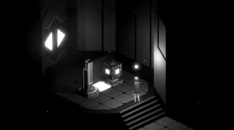 Abstract Thriller Games - 'Fracter' is a Sensory Journey That Explores Themes of Light and Darkness