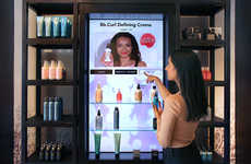 Connected Hair Product Displays