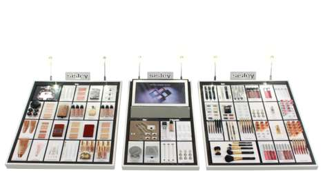 Tech-Savvy Beauty POS Displays