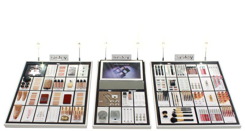 Tech-Savvy Beauty POS Displays