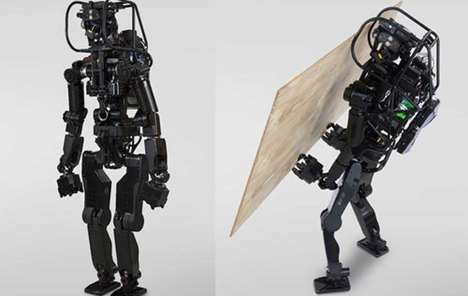 Construction Worker Humanoid Robots