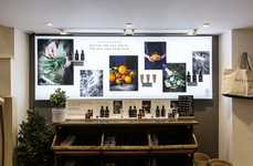 Reconfigurable In-Store Magnetic Displays - Daylesford Creates a Modular & Aesthetic-Forward Display