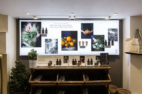 Reconfigurable In-Store Magnetic Displays
