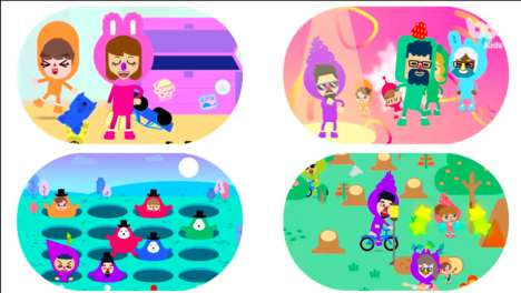 Family Fun Gaming Apps - 'Boop Kids' Merges Family-Friendly Gaming and Modern Parenting
