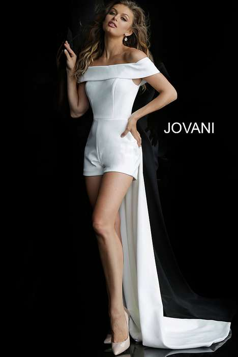 Bridal Jumpsuits - Jovani Offers Unique Designs For Brides looking to express their sense of style