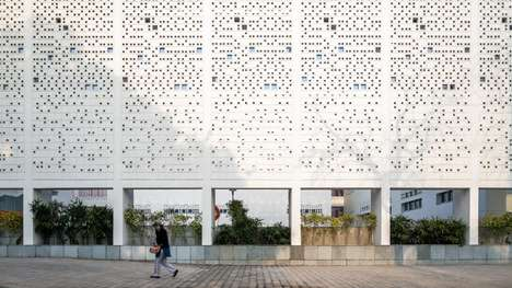 Perforated Ventilated School Buildings
