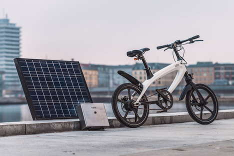 E-Bike Solar Battery Packs