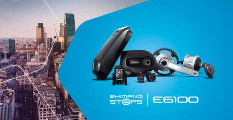 Redesigned E-Bike Components