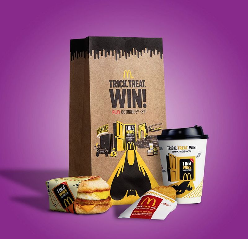 Spooky Fast Food Sweepstakes'