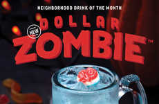 Glowing Zombie Cocktails - Applebee's October Drink of the Month Will is the New Dollar Zombie