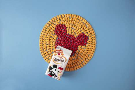 Cheesy Mouse Ear Crackers