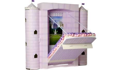 Whimsical Fairytale-Inspired Beds - Fable Bedworks' Adorable Princess Bed Retails at $7,650 USD