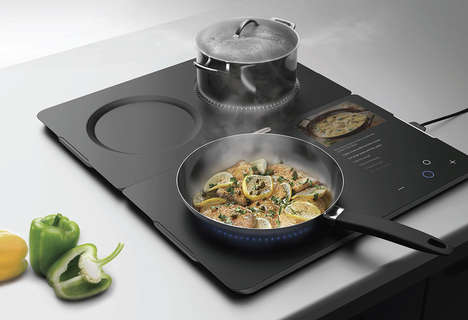 Recipe-Guiding Connected Cooktops
