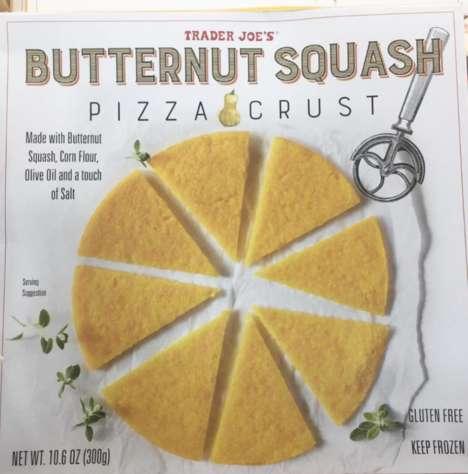 Squash-Based Pizza Crusts