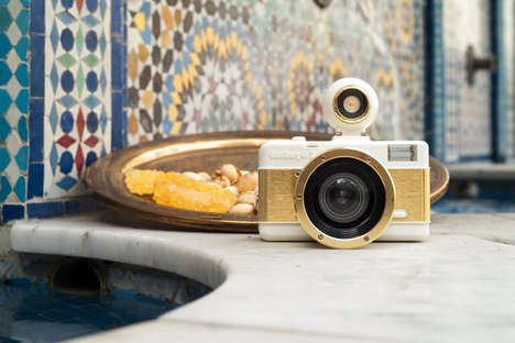Vintage-Inspired Fisheye Cameras - The Lomography Fisheye No 2 is Incredibly Gorgeous and Functional