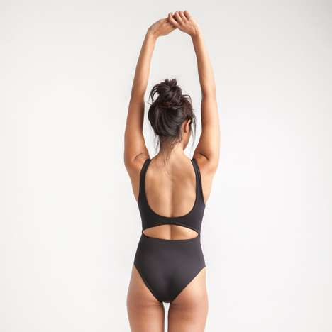 Minimalist Sporty Swimwear