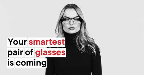 Discreet Smart Glasses - North's High-Tech Glasses Design Fits in a Simple, Stylish Frame