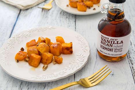 Vanilla-Infused Maple Syrups