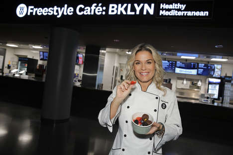 Diet-Specific Cafés - The 'Freestyle Café' in Brooklyn is Weight Watchers' First-Ever Café