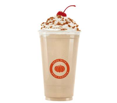 Seasonally Spiced Pumpkin Milkshakes